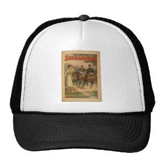 Shenandoah, 'Halt' Vintage Theater Mesh Hats