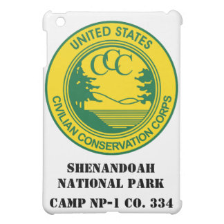 Shenandoah National Park CCC Camp NP-1 Co. 334 iPad Mini Covers