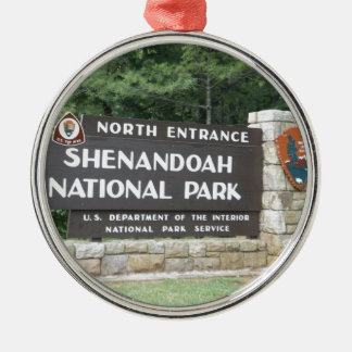 Shenandoah National Park Christmas Ornament