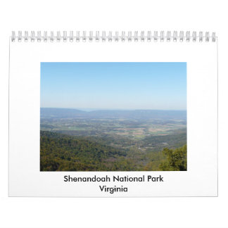 Shenandoah National Park Wall Calendars