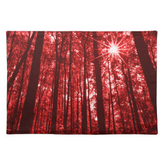 Shenandoah Red Placemat