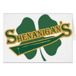 Shenanigan's Greeting Cards