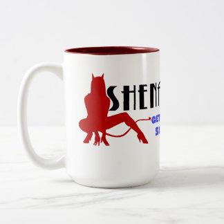 Shenanigans logo mugs