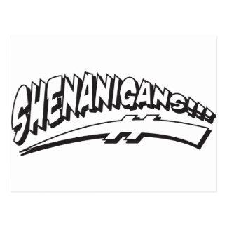 Shenanigans Postcard