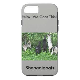 Shenanigoats iPhone 7 Case