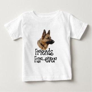 """sheperd """"Friends Fur-ever"""" Tshirt"""