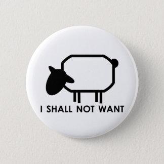 Shepherd 6 Cm Round Badge