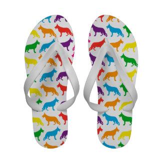 Shepherd dog sandals