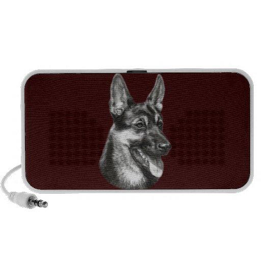 Shepherd Painting iPod Speakers