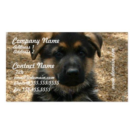 Shepherd Puppy Business Cards