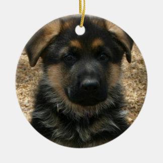 Shepherd Puppy  Ornament