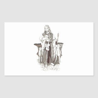 Shepherd Rectangular Sticker