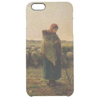Shepherdess with her Flock, 1863 Clear iPhone 6 Plus Case