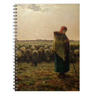 Shepherdess with her Flock, 1863 Notebooks
