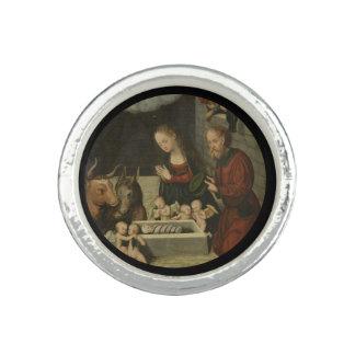 Shepherds Adoring Baby Jesus by Cranach
