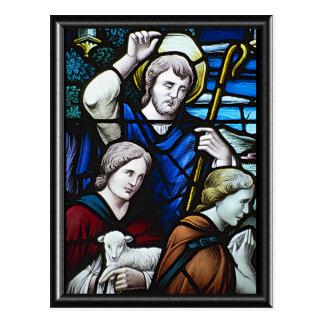 Shepherds at the Nativity Postcards