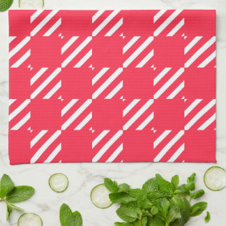 Shepherd's Check, Customize, Change color Tea Towel