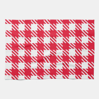 Shepherd's Check, stripe, Customise, Change colour Tea Towel