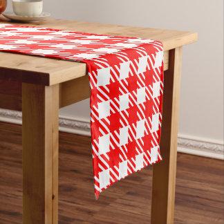 Shepherd's Check, stripe, Customize, Change color Short Table Runner