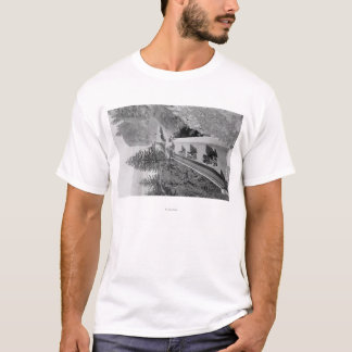 Shepherd's Dell on Columbia River Photograph T-Shirt