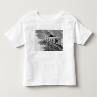 Shepherd's Dell on Columbia River Photograph Toddler T-Shirt