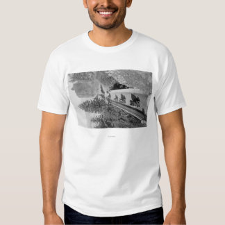 Shepherd's Dell on Columbia River Photograph Tshirts