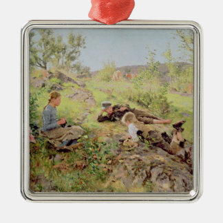 Shepherds, Tatoy, 1883 Christmas Ornament