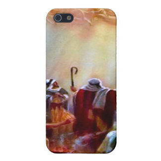 Shepherds visited by angels iPhone 5 case