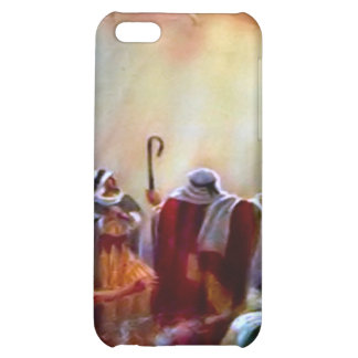 Shepherds visited by angels iPhone 5C cases