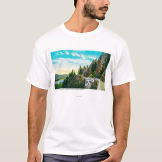 Shepperd's Dell on Columbia River T-Shirt