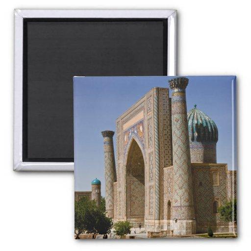 Sher-Dor Madrasah: Aiwan Magnet