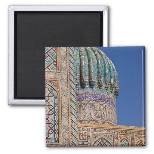 Sher-Dor Madrasah: Detail Fridge Magnet