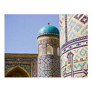 Sher-Dor Madrasah: Detail Postcard