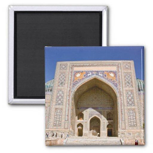 Sher-Dor Madrasah: Facade Fridge Magnet