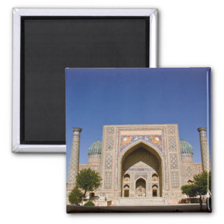 Sher-Dor Madrasah: Facade Magnet
