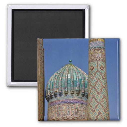 Sher-Dor Madrasah: Minaret Magnets