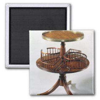 Sheraton two-tier dumb waiter square magnet
