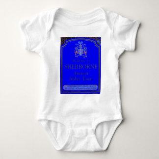 sherborne blue baby bodysuit