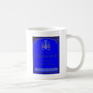 sherborne blue coffee mug