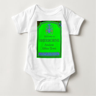 sherborne green baby bodysuit