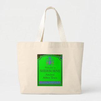 sherborne green large tote bag