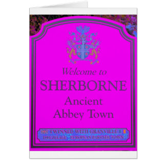 sherborne pink card