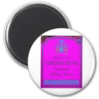 sherborne pink magnet