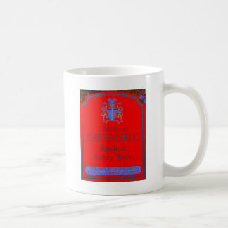 sherborne red coffee mug
