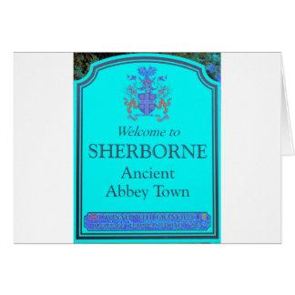 sherborne turtoise card