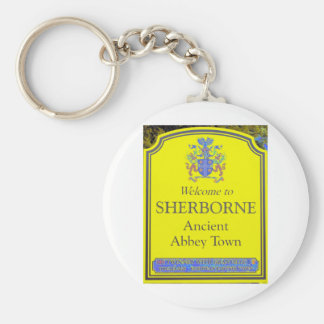 sherborne yellow key ring