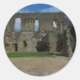 Sherbourne Old Castle 003 Round Sticker