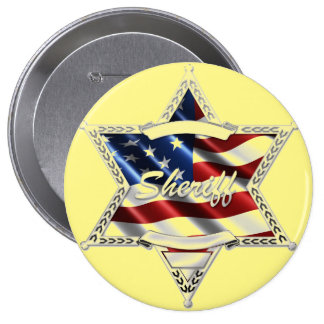 SHERIFF 10 CM ROUND BADGE