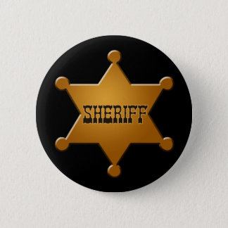 Sheriff Badge - button