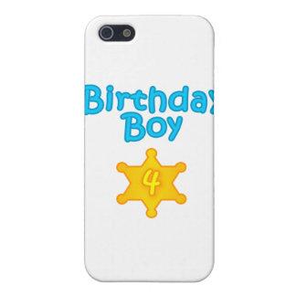 Sheriff Birthday Boy 4 iPhone 5/5S Covers